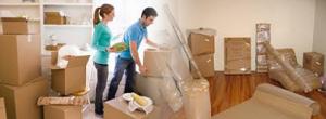 Packning i samband med flyttfirma