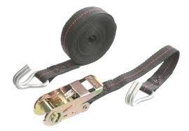 Bild på spännband vid flytt med flyttfirmor