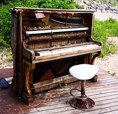 Bortforsling av piano Göteborg pris 1800 kr